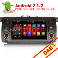 Android 7.1 Autoradio GPS Navi BMW 3er E46 M3 Rover75 MG ZT WiFi CANBUS OBD DAB+