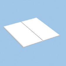 White Window door plastic upvc flexible angle Trim 25mm