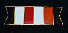 Vintage Vans Authentics Inc Black White Red & Rust Enameled Gold Bar Pin