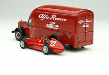 Exoto 43 | 1951 Alfa Romeo 500 Race Car Transporter | Item # EXO00002