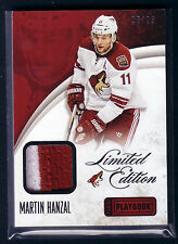 13/14 PANINI PLAYBOOK MARTIN HANZAL 2C LIMITED EDITION PRIME PATCH 16/25
