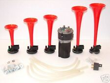 Musical AIR Horns EL ALMA LLANERA Venezuela Tune 6 Trumpets Compressor See Video