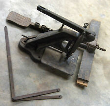 Antique 1893 Leather Riveter E.B. STIMPSON & SON NEW YORK