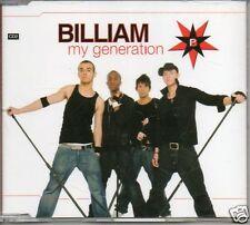 (784L) Billiam, My Generation - new CD 2