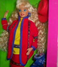 """Vtg 1990 Barbie United Colors of Benetton 12"""" Doll Foreign Issued NIB"""
