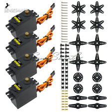 4PCS MG995 RC Servo High Speed Metal Gear Torque of Airplane Helicopter Car Boat