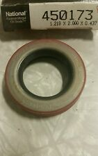 Federal Mogul National Oil Seals 450173 Seal 1.218 X 2.000 X 0.437 Brand New!