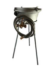 Outdoor Long Leg High Pressure Propane Manual Ignition Wok Burner Pf13L160