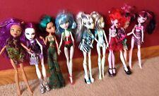Lot Of 9 Monster High Dolls