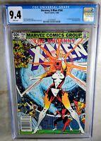 Uncanny X-Men #164 NEWSSTAND 1st Binary - Marvel 1982 CGC 9.4 NM WP Comic I0097