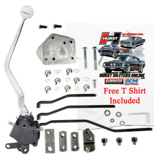 HURST 4 Speed Shifter kit 1965-73 Ford Mustang Mercury Cougar SB Top Loader 432