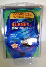 New Avery After Burner CD/DVD Labeling System Complete Kit Labels & Software
