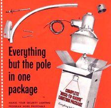 DUSK to DAWN Barn LIGHT 175W 120V Mercury Vapor VINTAGE American Electric NEW
