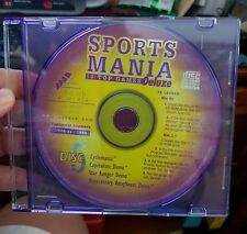 Sports Mania Deluxe Demo (disc only) PC CD ROM - FREE POST