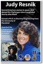 Judy Resnik - NEW NASA American Astronaut Space Exploration POSTER