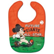 San Francisco Giants Baby Bib Disney Mickey Mouse Feeding Infant MLB Baseball