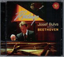 Josef BULVA Signiert BEETHOVEN Waldstein Moonlight Quasi una Fantasia Sonata CD