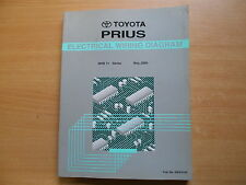 Schaltpläne manual de diagramas del cableado Toyota Prius 05.2000 EWD415F
