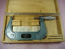 TESA Vintage Classic 100-125mm Metric Micrometer W/ Box Swiss Made