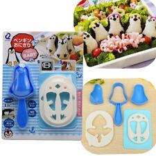 Penguin Shape Bento DIY Sushi Rice Ball Sandwich Onigiri Mold Mould Maker Cutter