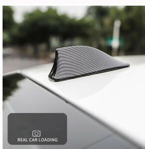 Shark Fin Car Signal Antenna Carbon Fiber Aerial For Volkswagen Golf Polo Amarok