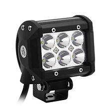 AVADOR 2 PCS 18W CREE LED Light Bar Off Road Driving Fog Lamp Super Bright LED