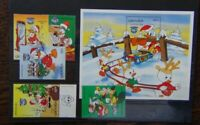 Grenada 1984 Olympics Walt Disney Cartoon Characters set & Miniature Sheet MNH