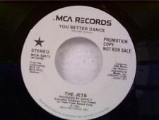 """THE JETS """"YOU BETTER DANCE / SAME"""" 45 MINT PROMO"""