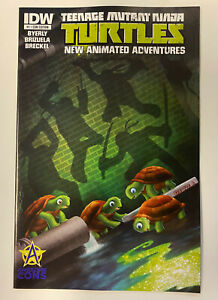 IDW: TMNT NEW ANIMATED ADVENTURES #1: NM CONDITION: AWESOME CON COVER