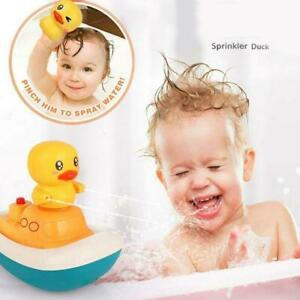 Electric Water Spray Toys Rotate Boat 3 Fountain Methods Ducks Baby Bath