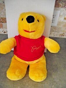 "Vintage Gund Disney Winnie the Pooh Plush Bear 18"" Stuffed Animal Soft Toy Sears"