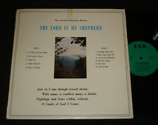 PETER BAILIE RARE AUSSIE 1960s CHRISTIAN LP ON CRM - THE LORD IS MY SHEPHERD