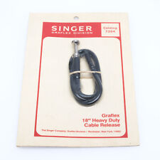 "Singer Graflex 18"" Heavy Duty Cable Release 7934 New Old Stock #99029"