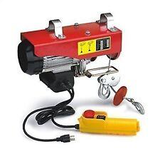 440lbs Mini Electric Wire Hoist Remote Control Garage Auto Shop Overhead Lift US