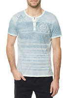 Buffalo David Bitton Men's Mirage Kalock Henley T-Shirt Sz XS $39 NEW