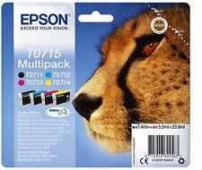Epson Multipack 4 Farben T0715 DURABrite