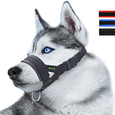 Nylon Dog Muzzle for Small,Medium,Large Dogs Prevent from Biting,Barking and