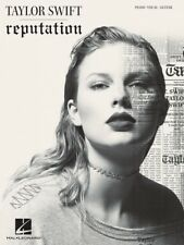 Taylor Swift Reputation Sheet Music Piano Vocal Guitar SongBook NEW 000262694