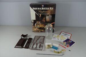 Vintage MB Crafts Ship in a Bottle Kit Mayflower Please See Description