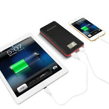50000mah Mobile LCD Power Bank LED 2USB External Battery Charger For Smart Phone