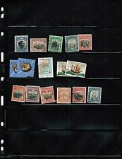 MOCAMBIQUE  group of 14  see scan USED   cat $5.00  LOT 303