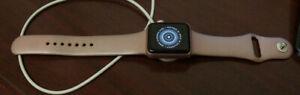 (CO)Apple Watch 38MM Series 2 Aluminum Case Rose (GPS) iCloud - Parts