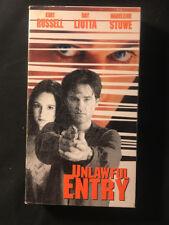 Unlawful Entry (VHS, 1997)