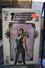 Justice League of America #53 David Mack Donna Troy Variant DC Comics 2011