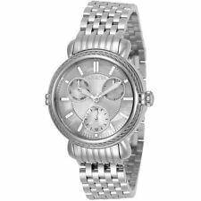 Invicta Women's Watch Wildflower Quartz MOP Dial Silver Steel Bracelet 30866