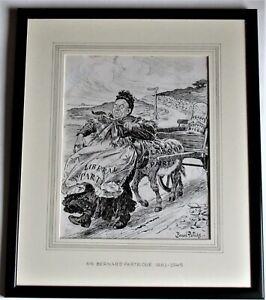 Bernard Partridge, original pen & ink drawing, political cartoon for Punch, 1906