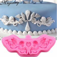 Beautiful Silicone Angel Border Mold for Fondant, Candy or Soap - Ships from USA