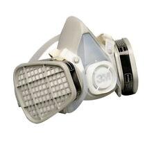 New Listing3M Large Half Facepiece Respirator 5301 Organic Vapor Niosh Black New