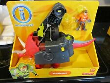 Imaginext Dinosaur new monster Huge Triceratops connect robot dinos armor toy
