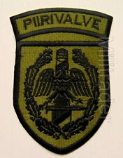 Estonia Estonian Border Guards Subdued Patch (PIIRIVALVE)